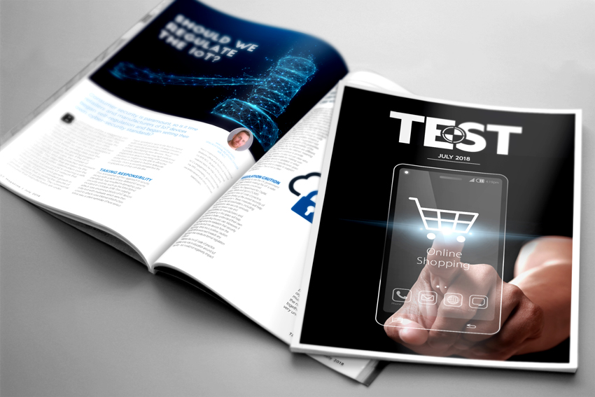 Read the latest issue of TEST!